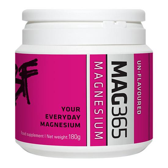 mag365 bone support magnesium powder unflavoured 150g