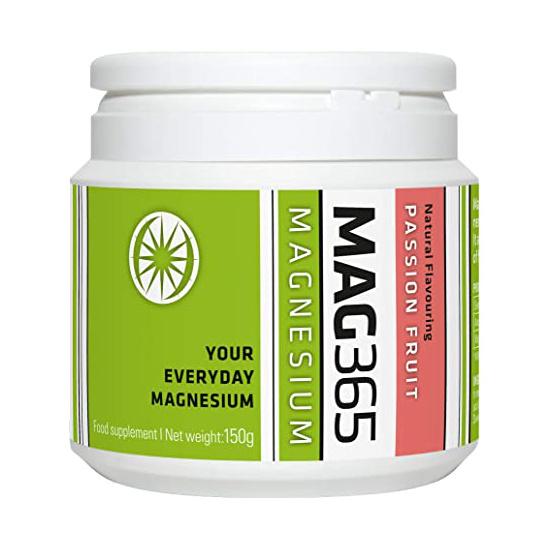 mag365 magnesium powder passionfruit 150g