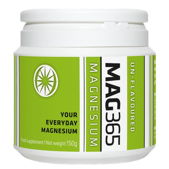 mag365 magnesium powder unflavoured 150g