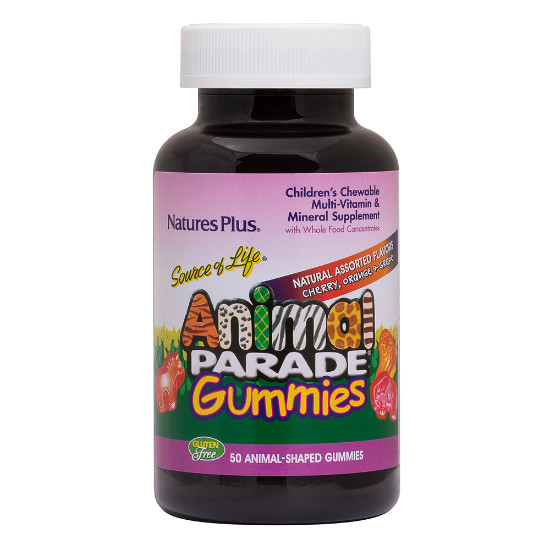 natures plus animal parade 50 gummies