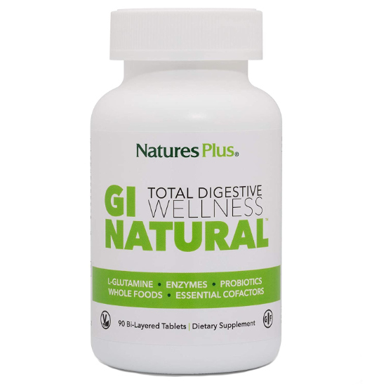natures plus gi support 90 tablets