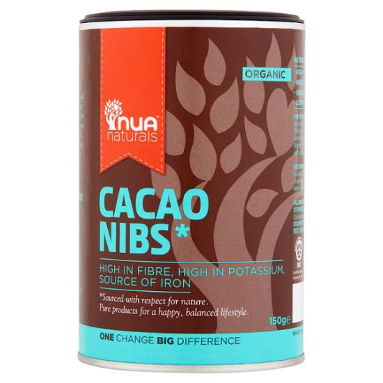 nua naturals cacao nibs 150g