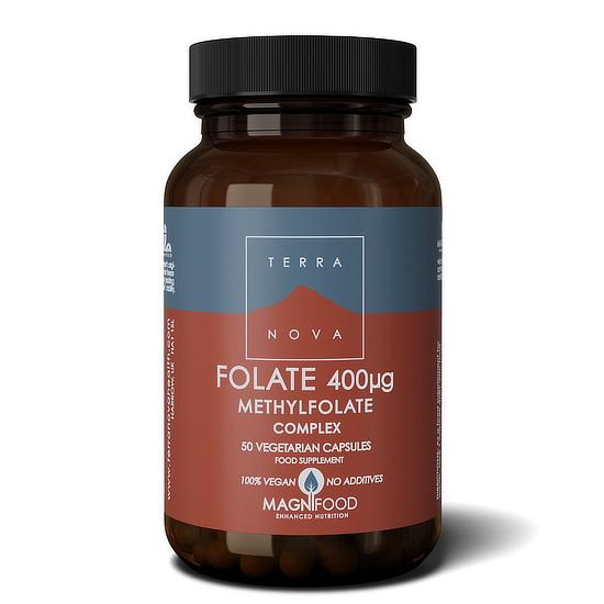 terranova folate methylfolate complex capsules 50