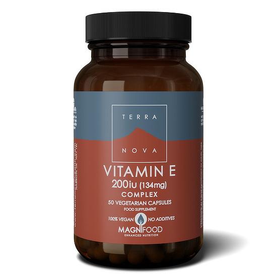 terranova vitamin e 50 capsules