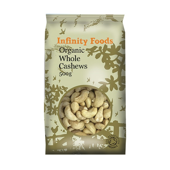 Infinity Foods Organic Cashew Nuts 500g