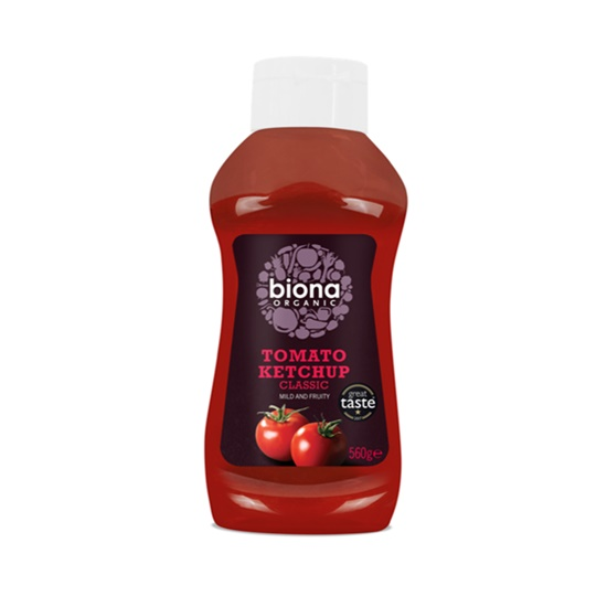 Biona Organic Squeezy Ketchup 560g