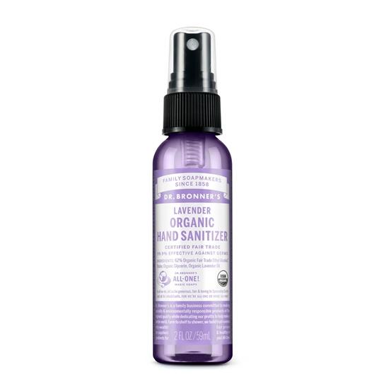 Dr. Bronner Organic Lavender Hand Sanitizer Spray