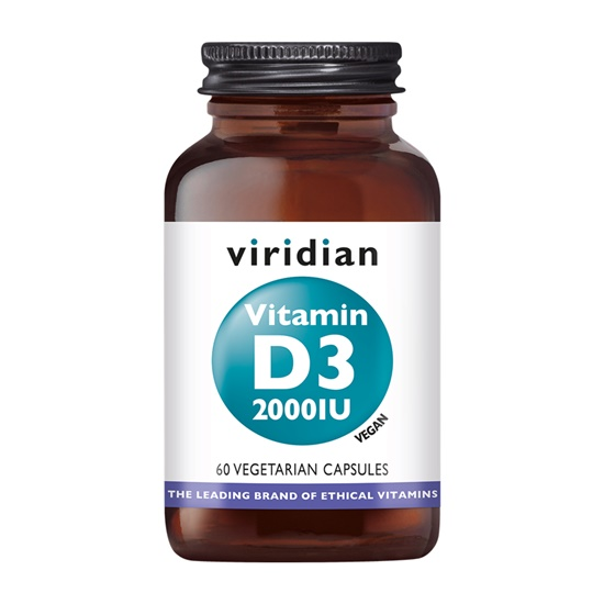 Viridian Vitamin D3 2000 IU