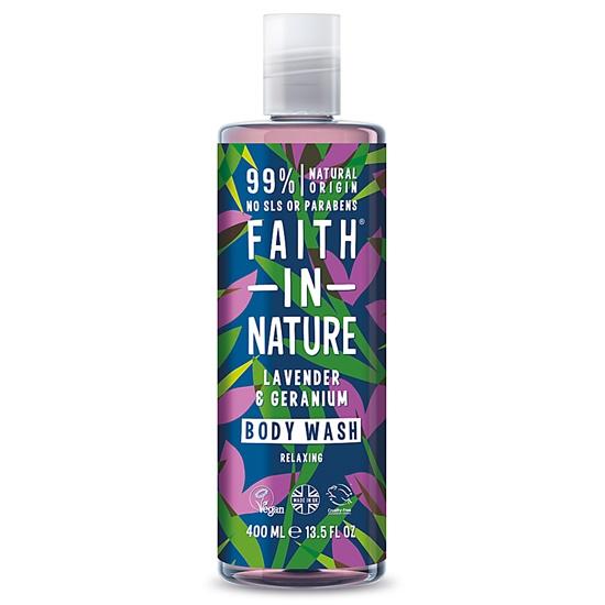 Faith In Nature Lavender Geranium Body Wash 400ml