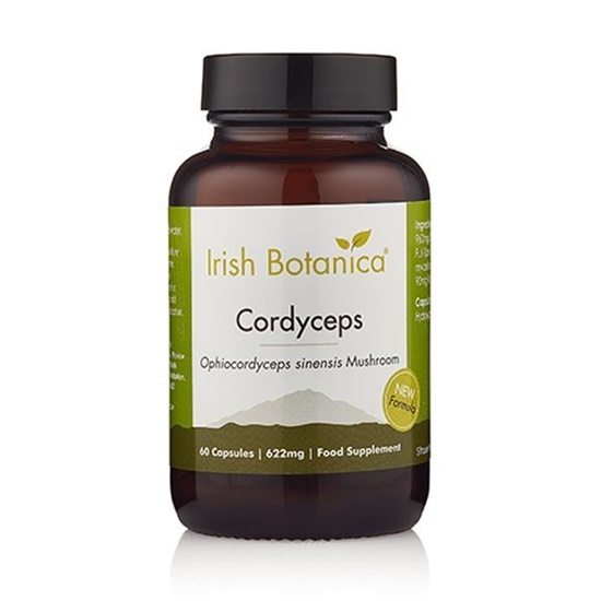 Irish Botanica® Cordyceps Mushroom 60 Capsules