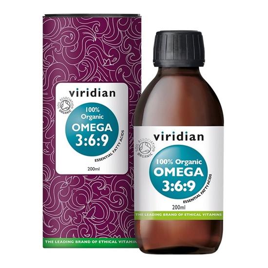 Viridian Organic Omega 3 6 9 Oil small