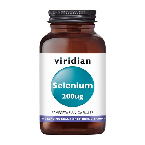 Viridian Selenium 200ug 30 Capsules