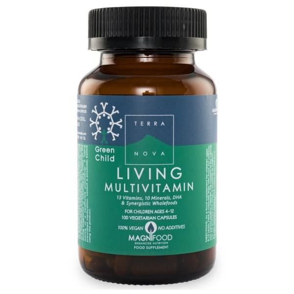 terranova green child vitamin d3 50 capsules