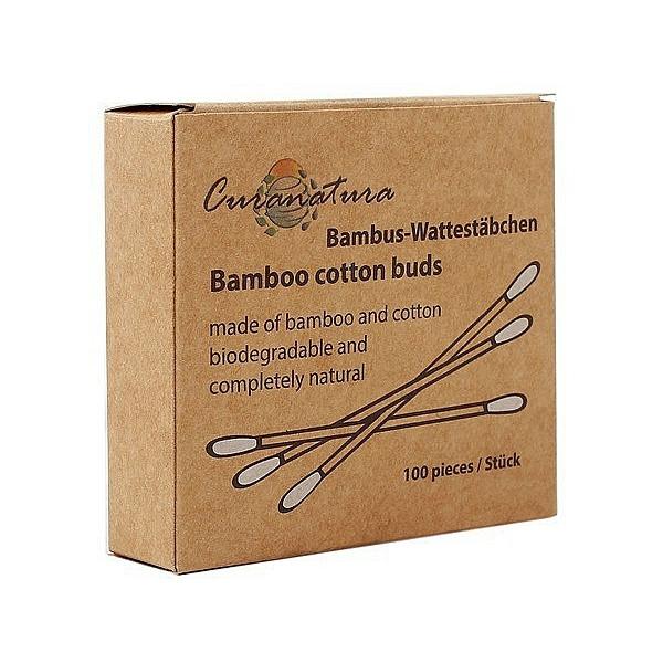 curanatura bamboo earbuds 100 pieces