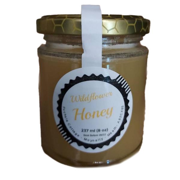 fuchsia cottage wildflower honey 237 ml